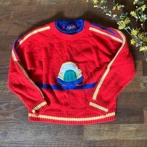 Vintage Car Sweater